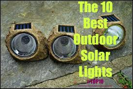 The 10 Best Outdoor Solar Lights For Outdoor & Garden SRE