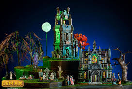 Lemax Halloween Village Ebay by Inspirations