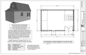 10 X 16 Shed Plans Gambrel by Backyard Topic 20 X 10 Shed Plans