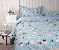 Cartoon Kids Bedding Set With Casa Boho Duvet Cover Queen