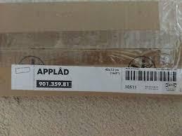 ikea applad tür küchenfront 30x92cm in grau 302 488 77
