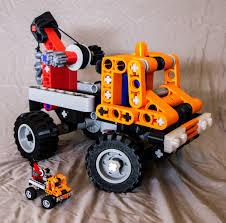 Jumbo 3d Printed Lego Mini Tow Truck - Finally Done! - Album On Imgur