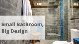 small bathroom remodel big design better builders