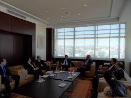 chambre de commerce allemande le président de l utica reçoit une délégation de la chambre tuniso