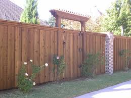 Decorative Garden Fence Panels Gates by Wood Fence Gate With Pergola Like The Entrance Home Fences