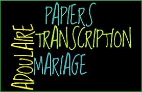 bureau de transcription nantes transcription mariage 2015 documents transcription 2017 mariage