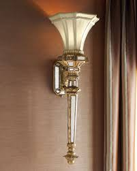 richard collection calcite 2 light wall sconce