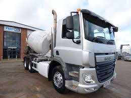 100 Cement Truck Video DAF CF 6x4 Eu6 CEMENT MIXER 2015 SH64 OVL Fleetex