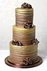 Chocolate Gold Butter Cream Cake