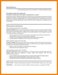 executive assistant resume objectives assistant office