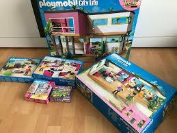playmobil luxusvilla bungalow küche wohnzimmer usw