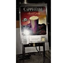 SUPERIOR COFFEE SMALL COMMERCIAL CAPPUCCINO MACHINE