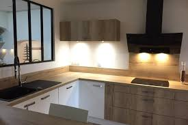cuisine blanc et bois cuisine blanche et bois beautiful cuisine blanche et bois