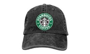 Starbucks Coffee Logo Baseball Cap Hats Black
