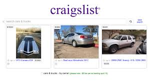 100 Craiglist Cars And Trucks Craigslist Will Soon Start Charging 5 To List A Car For Sale