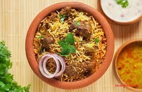 biryani indian cuisine authentic hyderabadi mutton biryani recipe restaurant style swati food