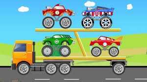 Superheroes Monster Trucks - Auto Transport - Video For Kids - YouTube Monster Trucks Teaching Children Shapes And Crushing Cars Watch Custom Shop Video For Kids Customize Car Cartoons Kids Fire Videos Lightning Mcqueen Truck Vs Mater Disney For Wash Super Tv School Buses Colors Words The 25 Best Truck Videos Ideas On Pinterest Choses Learn Country Flags Educational Sports Toy Race Youtube Stunts With Police Learning