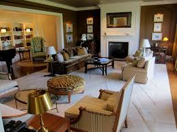 Living Room in the Four Seasons Boston Presidential Suite