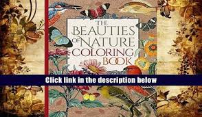 Download PDF Postcard Coloring Book Designs From Nature With 24