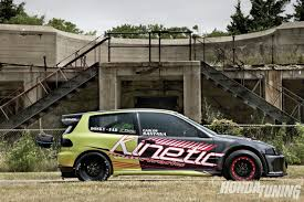 9 second Honda Civic VX H2B Bud Building Done Right
