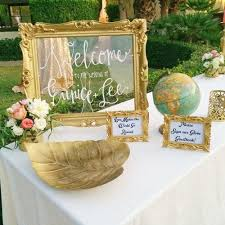 3 Glam Wedding Decoration Ideas With Mirrors