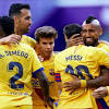 Lionel Messi's 20th assist helps Barcelona past Valladolid ...