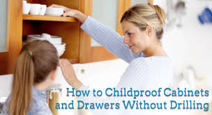 Childproof Cabinet Locks No Screws by Childproof Cabinets Without Drilling Knotty Alder Cabinets