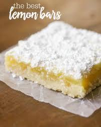 The BEST Easy Lemon Bars Recipe