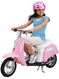 New Razor Pocket Mod Bella Electric Girls Motor Scooter Bicycle Ages 13 Up