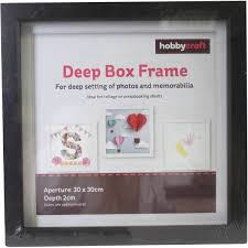 Box Frames Half Price Shadow Box Frames Hobbycraft