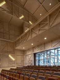 Ceiling Joist Definition Architecture by Carnal Hall At Le Rosey