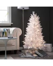 4ft Pink Pre Lit Christmas Tree by Find The Best Deals On 4 Ft White Tiffany Tinsel Pre Lit