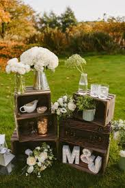 Intimate Outdoor Rustic Wedding Decoration Ideas