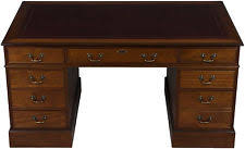 Sligh Lowry Desk Leather Top by Leather Top Desk Ebay