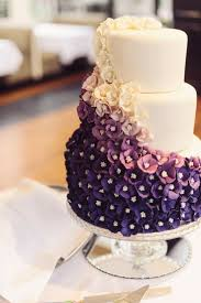 Wedding Cake Maybe A Color Other Than Purple Though