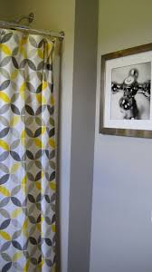 Yellow Gray Bathroom Rugs by Best 20 Gray Shower Curtains Ideas On Pinterest Small Master