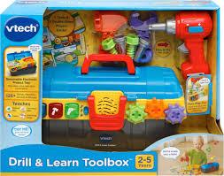 100 Vtech Hammer Fun Learning Truck VTech Drill Learn Toolbox Best Buy