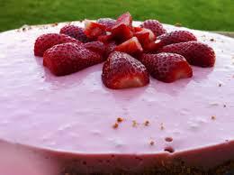 mon gâteau aux fraises et fromage blanc chris miam miam