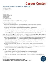 Graduate Student Cover Letter Structure Rh Slideshare Net Capitol Hill Government