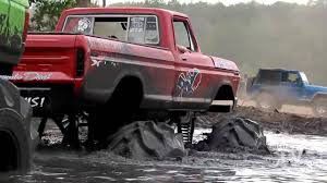 Mud Slut Vs Floored Whore - Mud Truck Tug-O-War | Big 4x4's ...