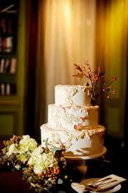 Meridian House DC Wedding Reception Rustic Fall Cake