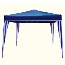 tonnelle parapluie pas cher tonnelle parapluie 3x3 m bleu et blanc amenagement extérieur