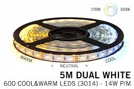 wifi set dual white led 600 leds variable color temperature