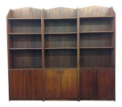 Mid Century Modern Display Cabinets Set Of Three