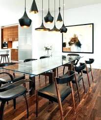 Modern Dining Light Fixtures Lighting Contemporary Large Room