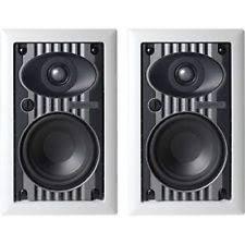 Sonance Stereo In Ceiling Speakers sonance hfw5 main stereo speakers ebay