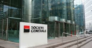 societe generale siege societe generale headquarter stock footage