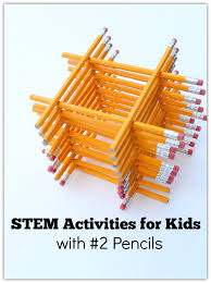Gumdrop Christmas Tree Stem Activity by Stem Activities For Kids With 2 Pencils There Are So Many