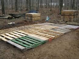Wonderful Recycled Pallet Deck Designs