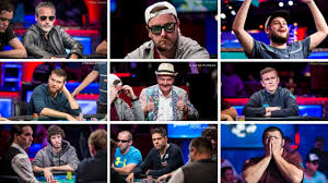 Meet The 2017 WSOP Main Event Final Table YouTube